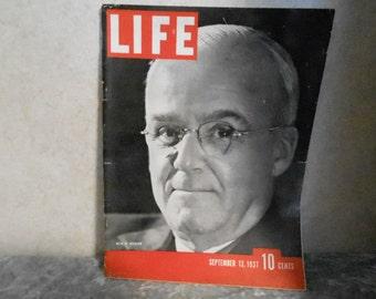 Sept. 13, 1937 Life Magazine