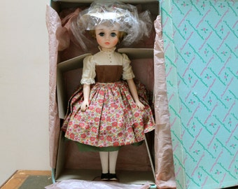 1960s Madame Alexander Sound of Music 17 Inch Maria Doll
