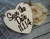 Rustic Shabby Chic Save the Date  Bride Groom Sign Photography Props Wedding Flower Girl Ring Bearer Engagement Dog Pictures