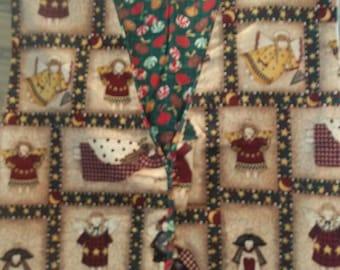 Handmade precious Reversible Christmas vest