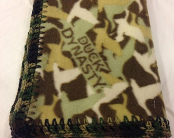 Duck Dynasty Fleece Baby Blanket