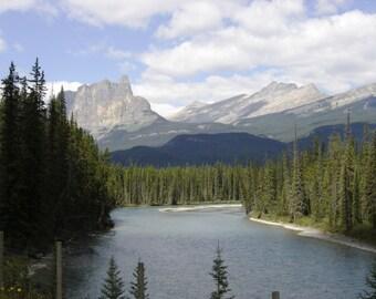 8x10 Canadian Rockies Print