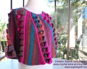 Belinda Shawl - PDF Crochet pattern