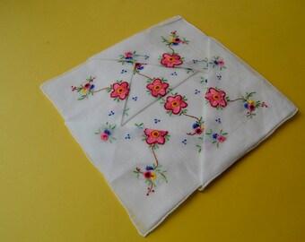retro handkerchief, panuelode season, handkerchief colecsion, pure cotton,