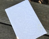 Handmade, Eco-Friendly Lace Notebook