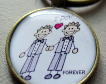 Just for HIM & HIM Key Chain
