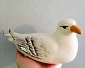 Vintage ceramic Seagull bird Seattle 60's 70's