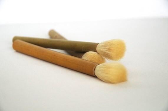Chinese Calligraphy Bamboo Brush Extra Large Horse And Mixed