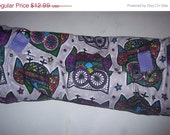 Ferret, Hedgehog, Guinea Pig, Hamster, Rat , Small Animal, cotton tunnel, Purple Funky Owls, Mosaic Owls,