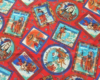 Popular Items For Indian Chief Fabric On Etsy