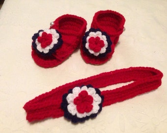 Baby / Toddler Sandals and Headband