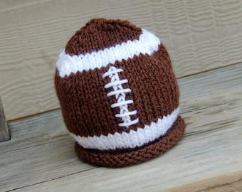 Baby Football Hat, Baby Football Beanie, Baby Football Helmet, Baby Football Cap, Baby Boy Hat