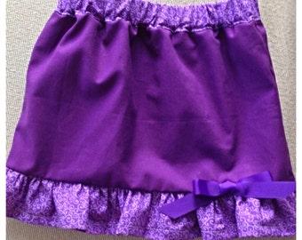 12m Purple skirt