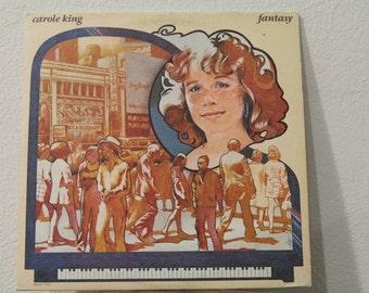 "Carole King - ""Fantasy"" vinyl record"