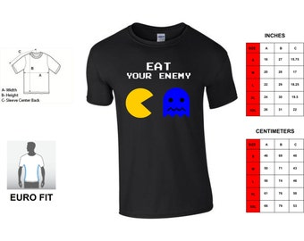 "T-SHIRT Pacman ""eat your enemy"""