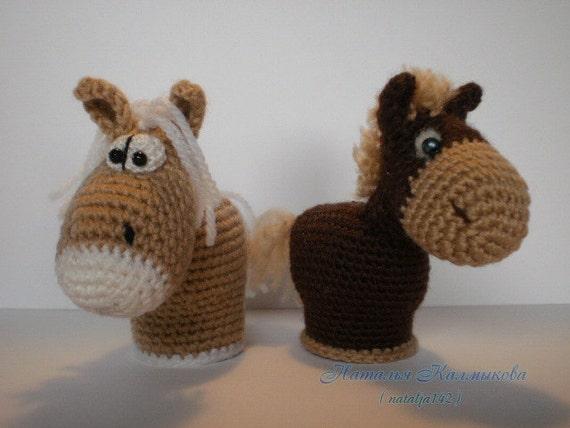 Small Horses. Toy Crochet Pattern (PDF) [Small, cute ...