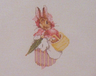 cross stitch beatrix potter mrs rabbit  CHART INSTRUCTIONS ONLY lakeland artist new