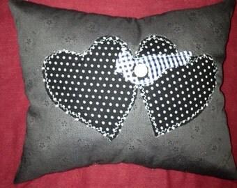 I heart cardinals pillow