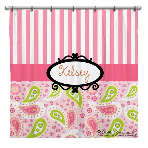 Items Similar To Personalized Shower Curtain Custom Shower Curtain Design Your Own Shower