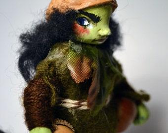 Gnarl - troll doll
