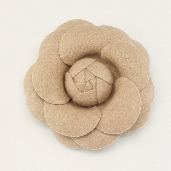 Beige Camellia Flower