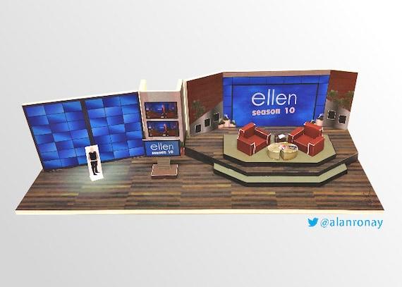 Ellen Show Set Miniature