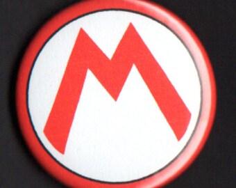 Super Mario Bros - 1.75 inch Mario Button