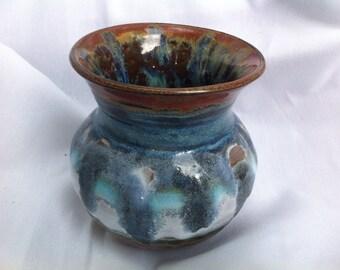 Ceramic Pottery Vase Wheel Thrown Handmade