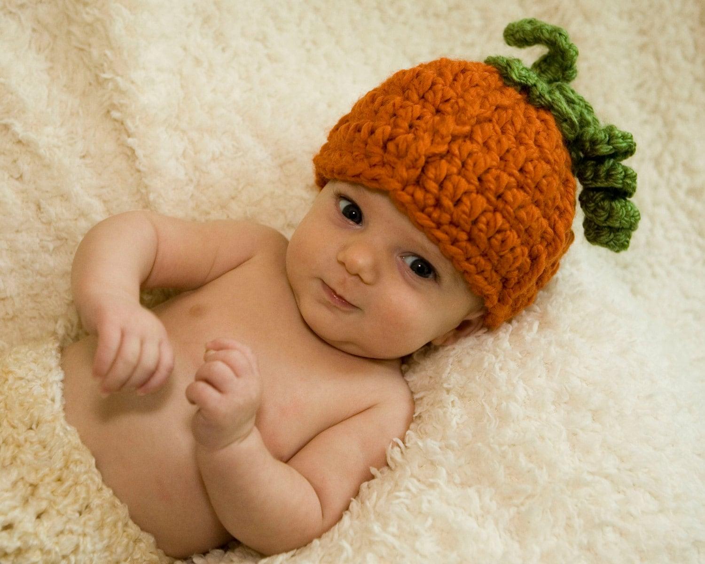 Pumpkin Hat Baby Pumpkin Hat Pumpkin Costume Fall