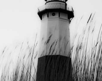 Black and White Lighthouse Photograph 4x6, 5x7,8x10, custom