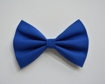 Blue Hair Bow, Hair Bow, Hair Bows, Hairbows for girls, Hairbows for teens, royal blue