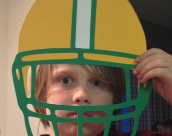 NFL/College/Any Team Football Helmet for Photo Booth/Prop/Decorations