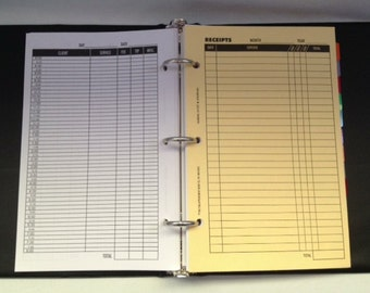 TAX KEEPER For Record Keeping and Receipts (Appointments • Income • Expenses • Organizer)