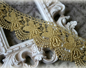 Tresors   Lace Trim Venice Lace for Altered Art, Costumes, Lace Jewelry, Headbands, Sashes, Sewing, Crafts LA-194