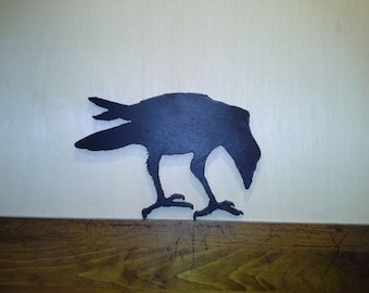RAVEN OR CROW - This one's name is Edgar