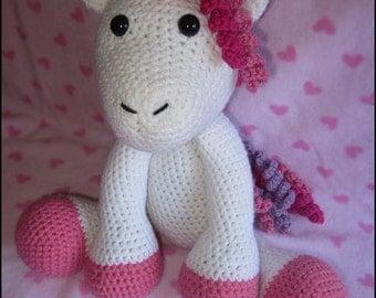 Crochet Pattern - The Adorable Unicorn