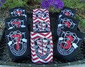 PERSONALIZED - Army Special Forces Embroidered Can Cooler insulated - Choose: Basic or 1st, 3rd, 5th, 7th, 10th, 19th Special Forces Crest