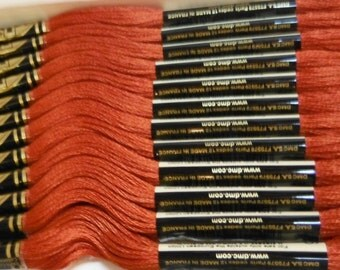 DMC Embroidery Floss - 4 Skeins - MEDIUM COPPER - 920