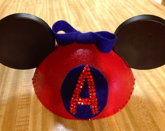 Anaheim Angels Mickey Ears, Angels Baseball Disney Ears, Mickey Ears