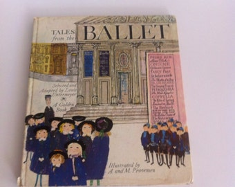 3rd Book Tales from the Ballet. By Luis Untermeyer