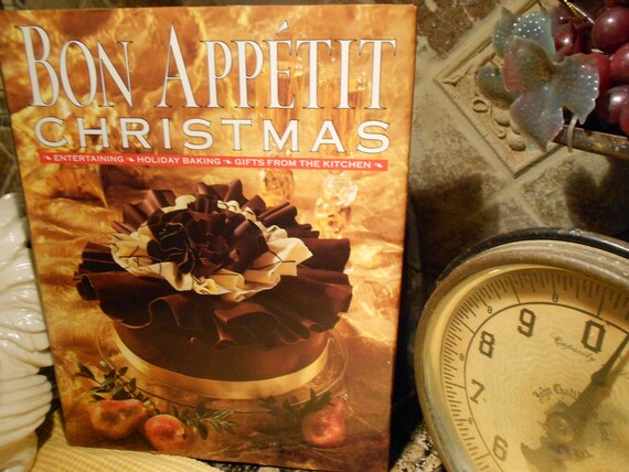 Bon Appetit December 2009 Peppermint Meringue Cake with ...   Bon Appetit Christmas Recipes