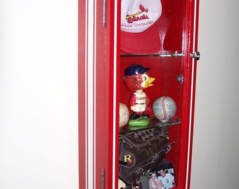 Sports Locker Display Case/shadow box  Display Your Passion