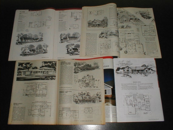15 issues vintage home plans magazines architectural for Architectural design issues