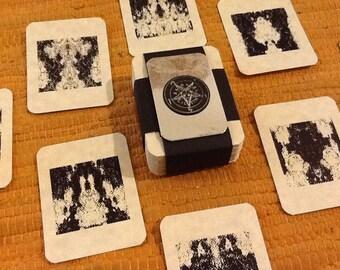 Demonic Divining Cards: Deck of 72 (Shemhamforash)