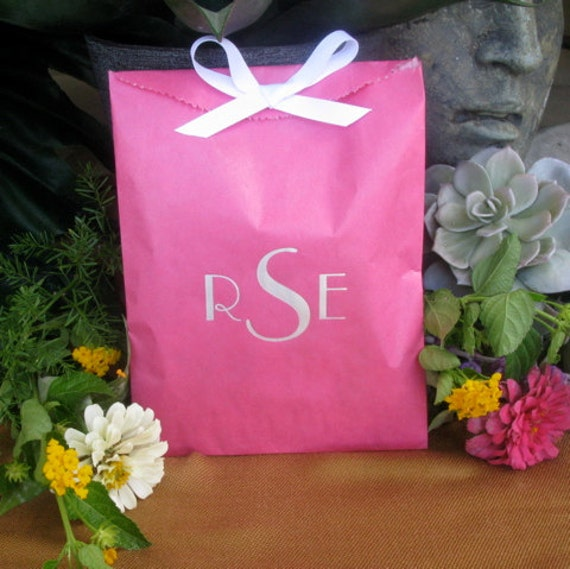 Wedding Gift Bags Printed : Party Favor Bags, Personalized Goodie Favor Bags, Custom Wedding Bags ...
