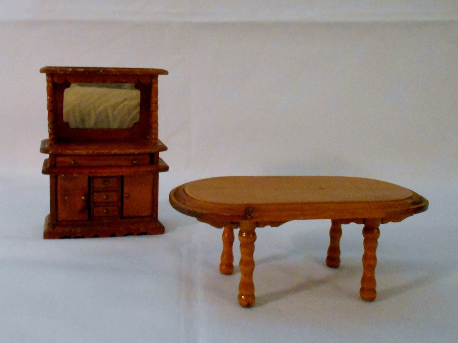 Lighting Dollhouse wooden furniture