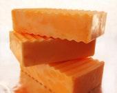 Pumpkin Spice Soap - Holiday Soap - Glycerin Soap - Stocking Stuffer