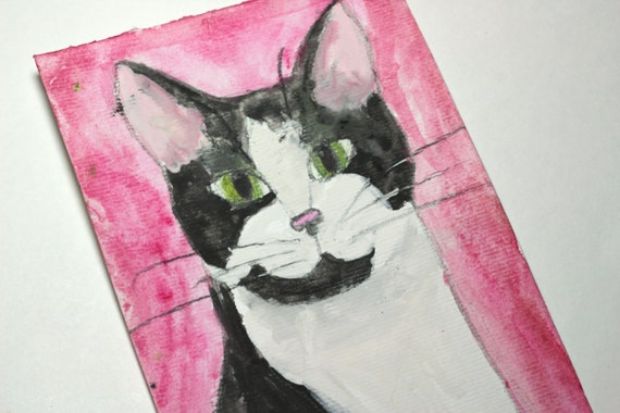 Pet Portrait - Single 4x6 Watercolor - Cat Dog Horse Rabbit Bird Etc.