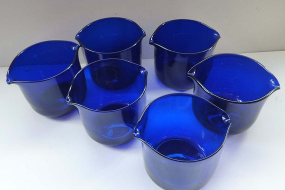 Antique Bristol Blue Glass Bristol Blue Glass Wine