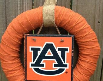 Auburn Wreath, War Eagle collegiate wreath